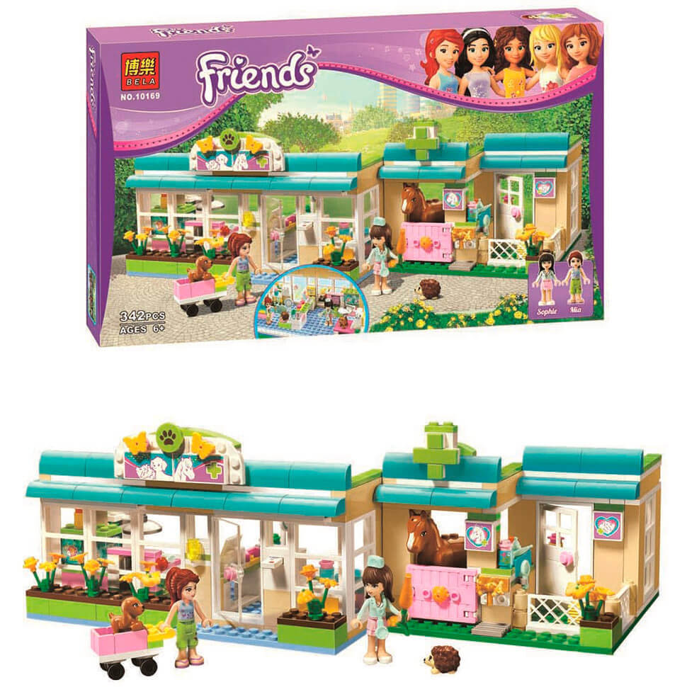 Lego friends конструктор клиника хартлейк-сити